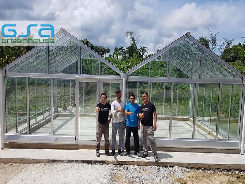 پروژه گلخانه مالزی شهر کیوچینگ